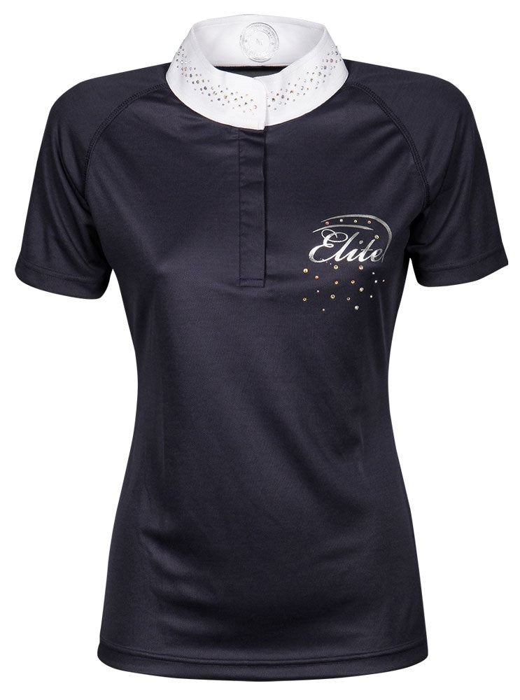 Elite Crystal Competition Shirt Navy