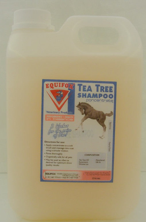 Equifox Tea Tree Shampoo
