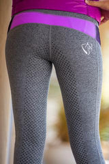 Bare Equestrian Performance Tights Glow