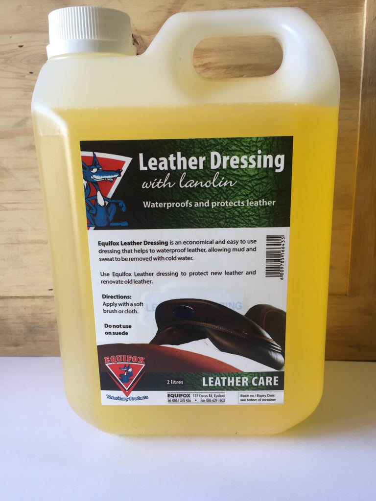 Equifox leather dressing oil