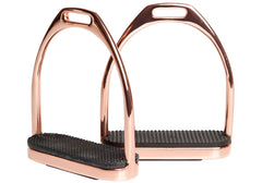 Rose Gold Stirrup Irons