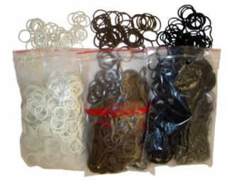 Plaiting Elastics in Bag Large