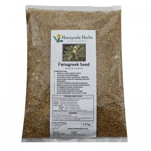 Honeyvale Herbs Fenugreek Seed
