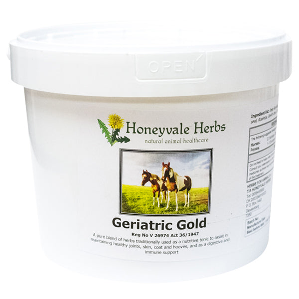 Honeyvale Herbs Geriatric Gold
