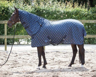 Harry's Horse Fly Sheet - Blue Nights