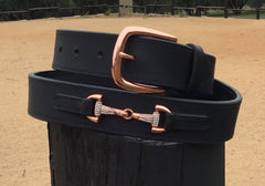 Arena Diva Rose Gold Bit Belt