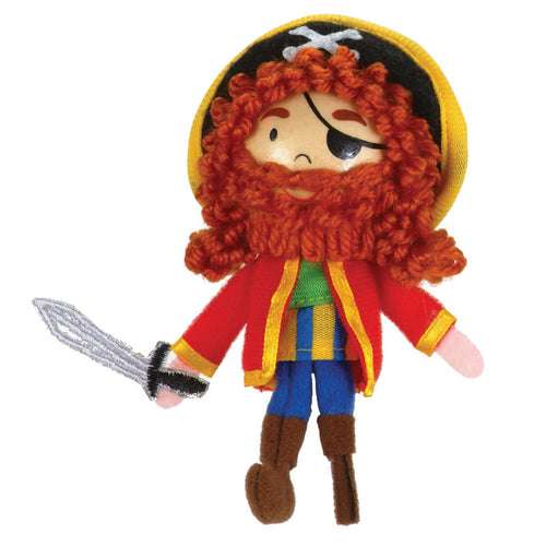 Fiesta Crafts Finger Puppet - Long John Silver