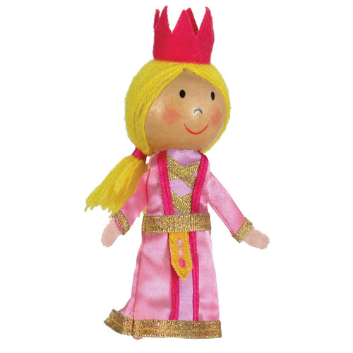 Fiesta Crafts Finger Puppet - Princess