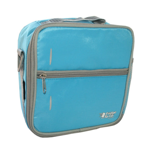 Fridge To Go Medium Lunchbox - Pale Blue