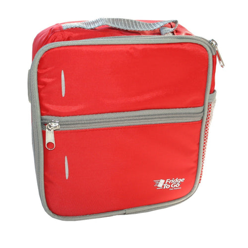 Fridge To Go Medium Lunchbox - Red