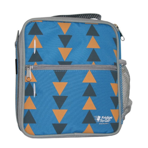 Fridge To Go Medium Lunchbox - Triangles