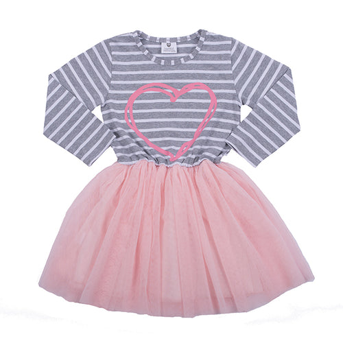 Hootkid Double the Love Party Dress
