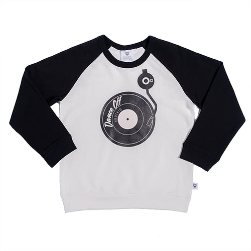 Hootkid On the Decks Sweater - Warm White & Black