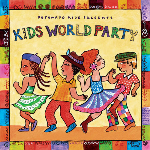 Putumayo Kids CD - Kids World Party