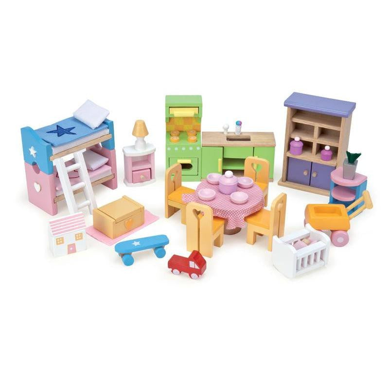 32 piece furniture and accessory pack.