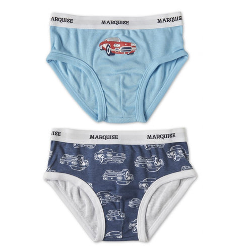 Marquise 2 pk Boys Underwear - Vintage Cars