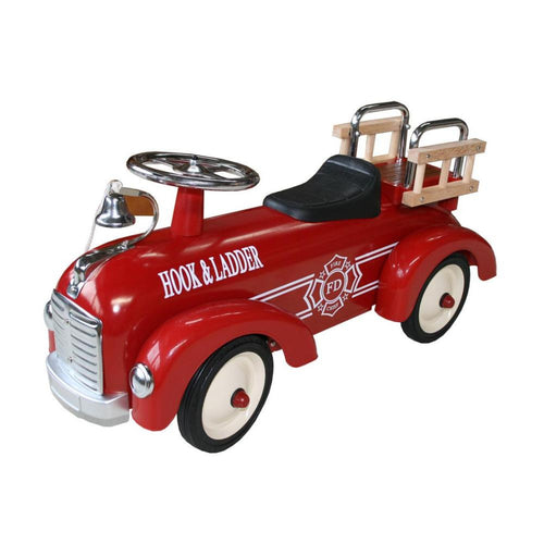 Metal Speedster Fire Engine