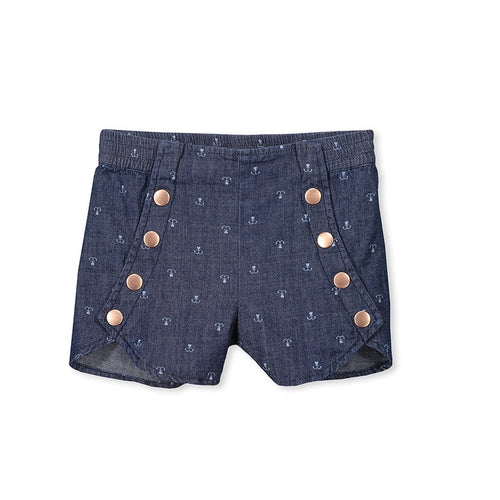Milky Girls Denim Short