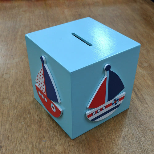 Money Box Sailboat