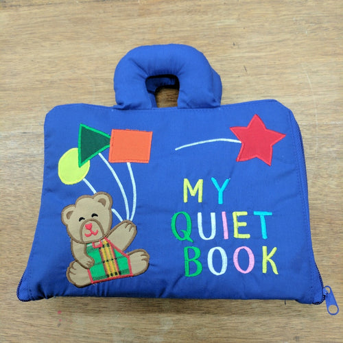 My Quiet Book Blue