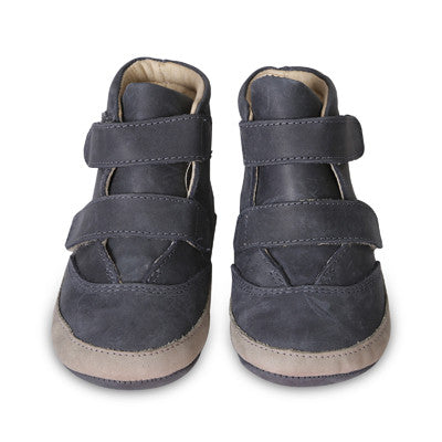 Old Soles Baby Boys Space Kiddie Shoe - Navy Grey