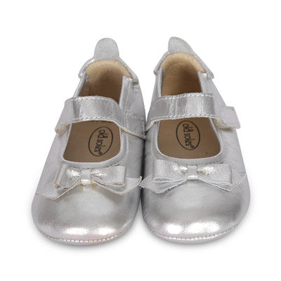 Old Soles Baby Girls Missy Shoe - Silver