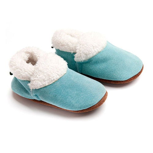 Ouch Baby Slippers - Blue