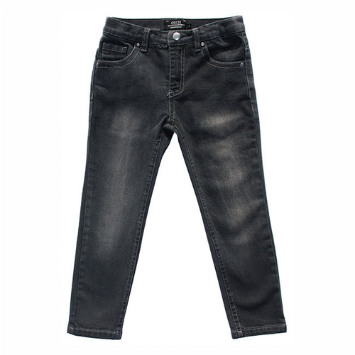 Ouch Boys Black Skinny Jeans