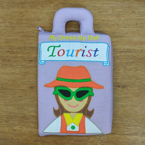Tourist Dress Up Doll Playbag
