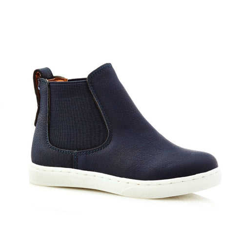 Walnut James Boot - Navy