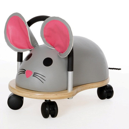 Wheely Bug Mouse - Large - Ride on Toys - Wheely Bugs have a friendly, fun,  colourful design that is an instant attraction for little boys and girls.They are a fabulous aid for kids just learning to walk and later with gross motor skills.These Wheely Bugs can move in any direction, back, forward and side ways and are safe, stable and made from quality long lasting materials. age 2+