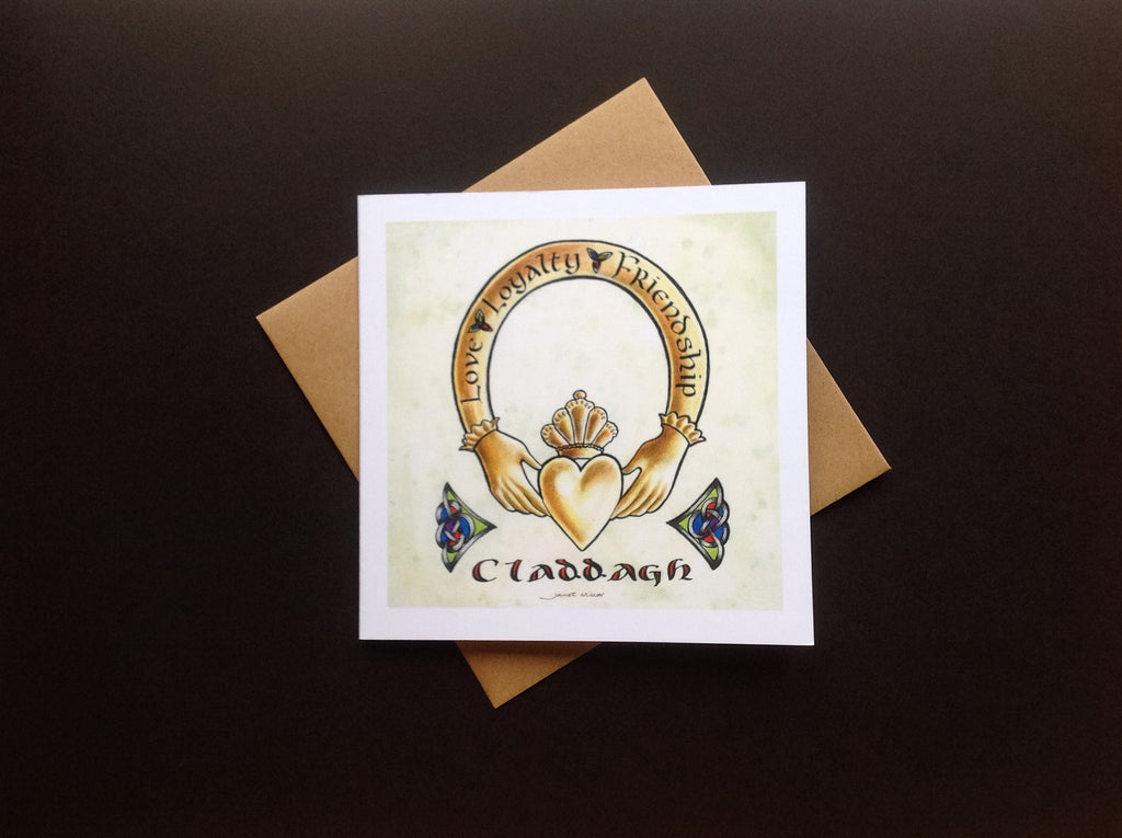 Claddagh Ring Greeting Card