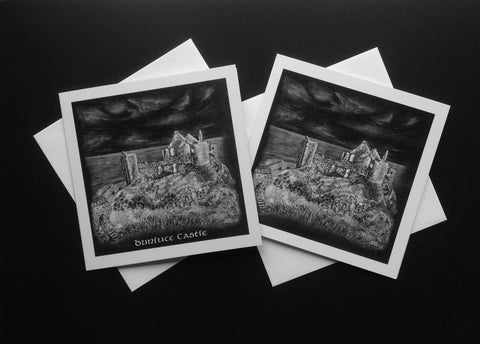 Dunluce Castle Greeting Card