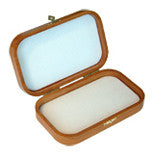 Cherry Wood deluxe fly box with flat foam