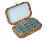 Cherry Wood deluxe fly box with 16 Compartments