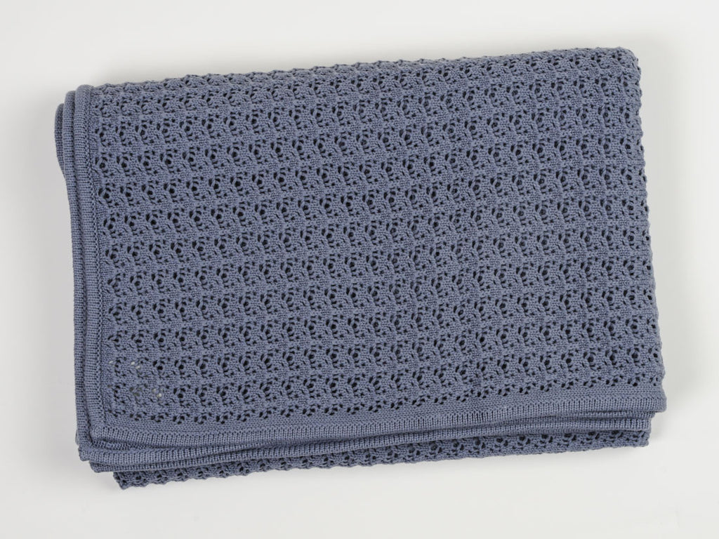 Cotton Riffle Throw
