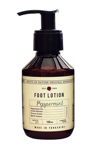 Fruits of Nature Peppermint Foot Lotion 150ml