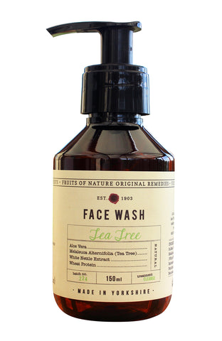 Fruits of Nature Tea Tree Face Wash 150ml