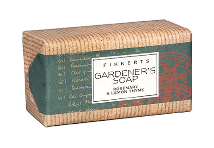 Kitchen Garden Wrapped Soap (Roasmary & Lemon Thyme)