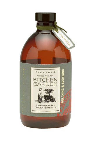 Kitchen Garden Lavender and Red Clover Foam Bath 500ML