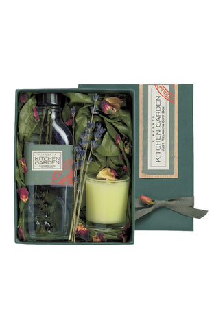 Kitchen Garden Just Relaxing Gift Box (Lavender Bath Essence and Candle)