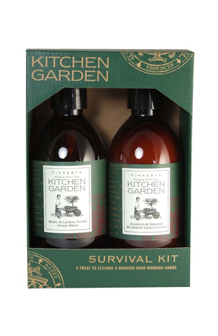 Kitchen Garden Survival Kit (Hand Wash and Hand Lotion 300ml)