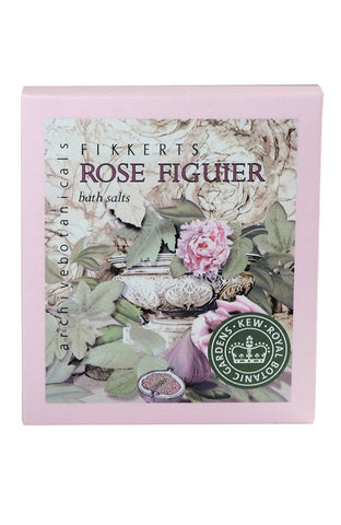 Royal Botanic Gardens, Kew - Rose Figuier Bath Salts 150g