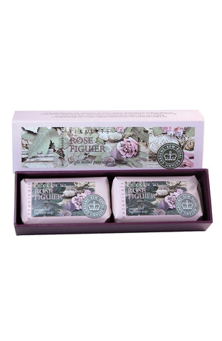 Royal Botanic Gardens, Kew - Rose Figuier Soap Gift Box