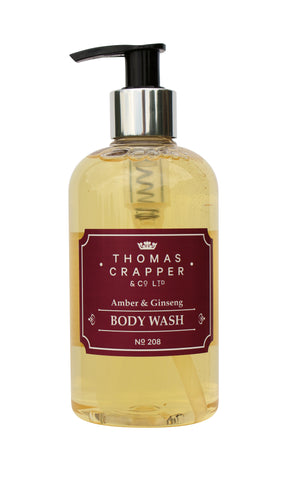 Amber & Ginseng Body Wash