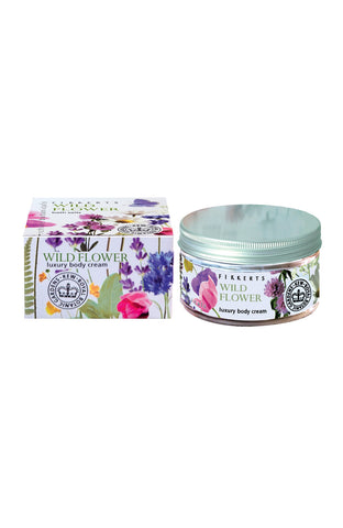 Royal Botanic Gardens, Kew - Wild Flower Luxury Body Cream 180ml