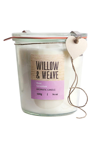 Willow & Weave Large Candle (available in six fragrances)