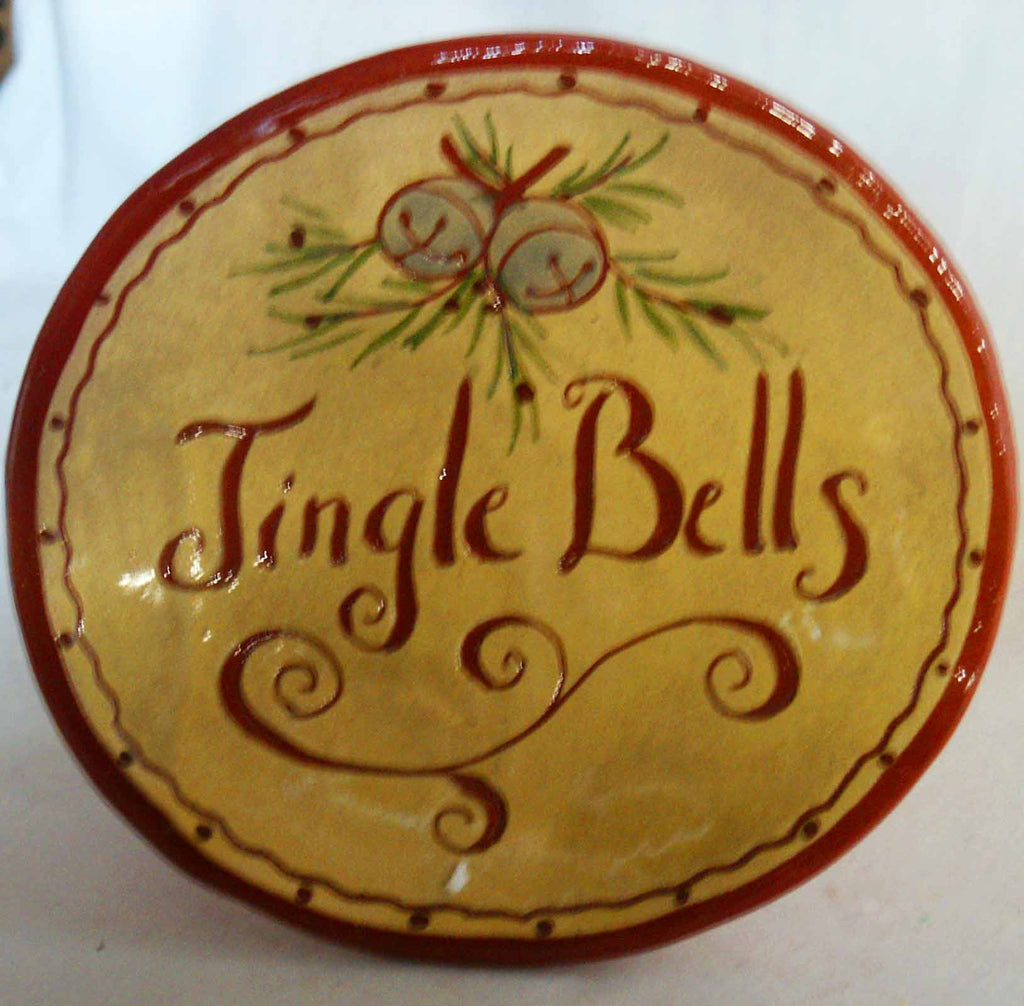 Jingle Bell Plate - Kitty's Ltd.