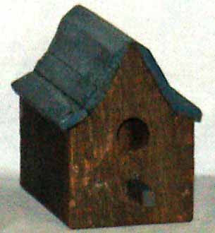 Brown Bird House