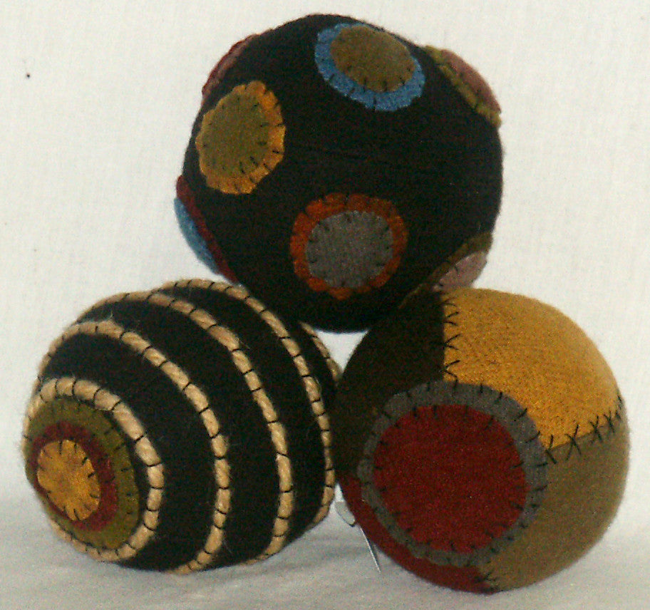 Set of Carpet Balls - Kitty's Ltd.
